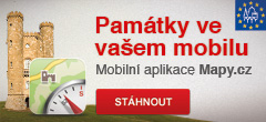 Mobilní aplikace Mapy.cz