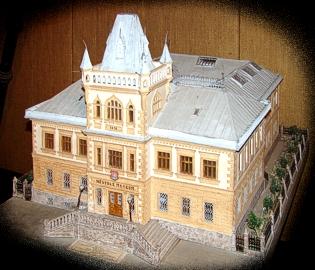 Návrh na novou budovu muzea z roku 1910