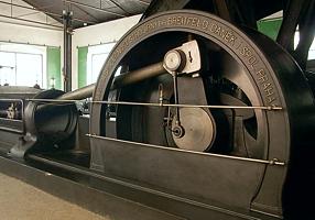 Parní těžní stroj Breitfeld-Daněk z roku 1914
