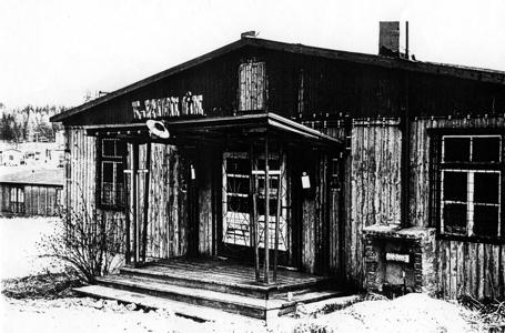 Foto kulturního domu z roku 1968