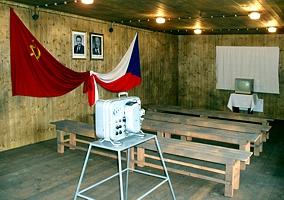 Interiér kulturního domu po rekonstrukci
